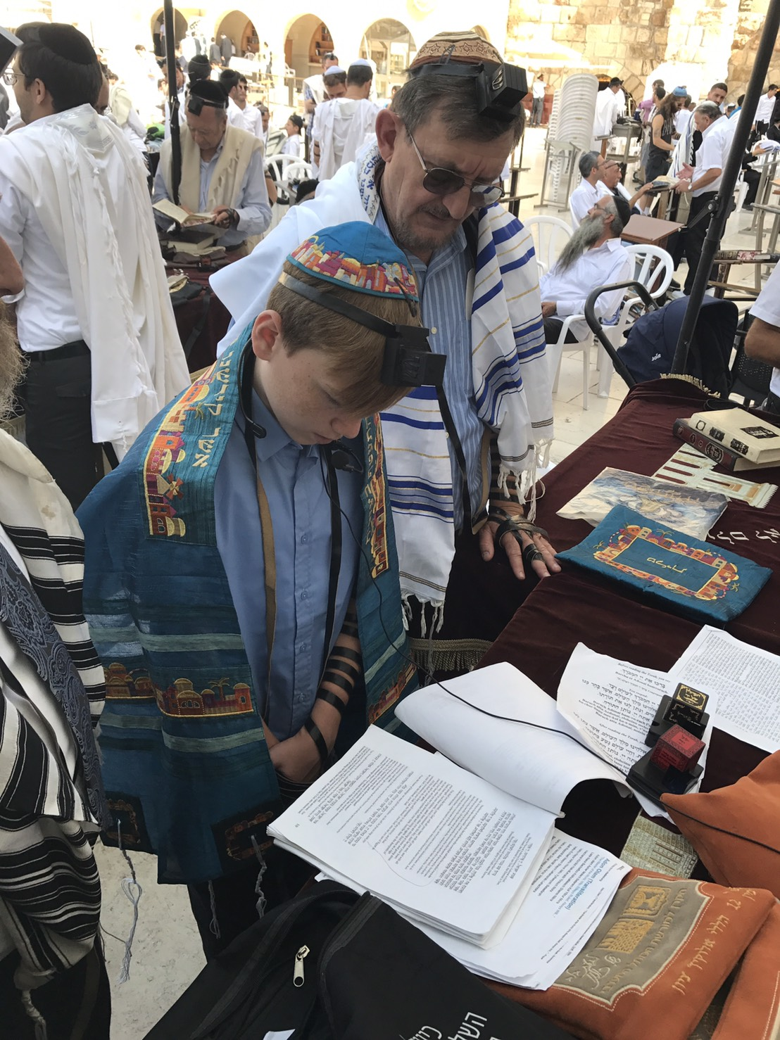 Reading in Jerusalem
